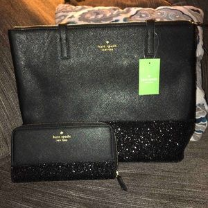 kate spade Bags - Tote with matching wallet